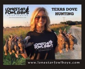 LONESTAR FOWL BOYS Dove Hunting 1A